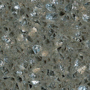 Colorful Shining Grey Quartz Stone