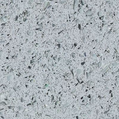Crystal Light Grey Quartz Stone Countertops