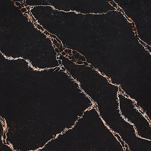 Calacatta Portoro Engineered Quartz Kitchen Countertops